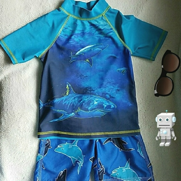 Gymboree Other - Boy Toddler Matching swim set, size 3T